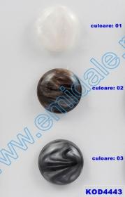 Nasturi cu Picior H1400, Marimea 40 (100 buc/pachet)    Nasturi cu Picior KOD4443, Marimea 48 (25 buc/pachet)