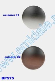 Nasturi cu Picior 0315-0291/12 (200 bucati/punga) Culori: Aurii si Argintii Nasturi cu Picior BP575, Marimea 54 (25 buc/pachet)