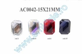 Strasuri X311, Marime 13x18 mm (100 buc/punga) Strasuri AC0042, Marime15x21 mm (100 bucati/punga)