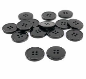 Nasturi DH820/26 (100 bucati/pachet) 4 Holes Buttons B2800/36 (100 pcs/pack) Color: Black