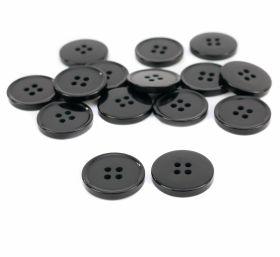 Nasturi cu patru gauri 3021/40 (100 bucati/punga) Nasturi cu Patru Gauri B2800/40 (100 buc/pachet) Culoare: Negru