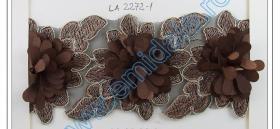 Pasmanterie, latime 45 mm (10.9 m/rola)Cod: CL00022 Pasmanterie LA2272 Maro ( 9m/rola)