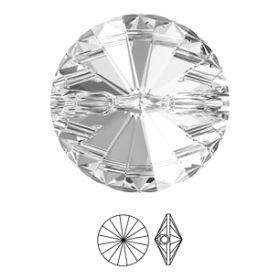 Nasturi 3015, Marimea: 18 mm, Culoare: Crystal (24 buc/pachet)  Nasturi 3015, Marimea: 10 mm, Culoare: Crystal (72 buc/pachet)