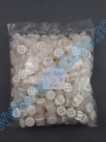 Nasturi 10384/18 (500 bucati/pachet) Nasturi 0310-3010 Albi (500 bucati/pachet)