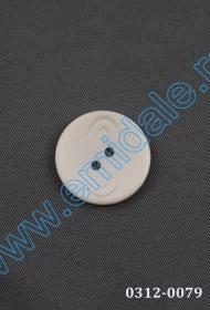 Nasturi Plastic cu Doua Gauri 0312-0111/40 (100 bucati/punga) Culoare: Alb Nasturi cu Doua Gauri 0312-0079/36 (100 buc/punga)