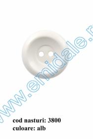 Nasturi Plastic cu Doua Gauri 0313-1283/36 (100 bucati/pachet) Nasturi cu Doua Gauri 3800/40 (50 buc/punga)