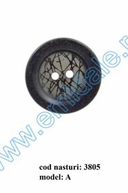 Nasturi Plastic cu Doua Gauri 0315-2129/54 (100 bucati/pachet)  Nasturi cu Doua Gauri 3805/44 (50 buc/punga)