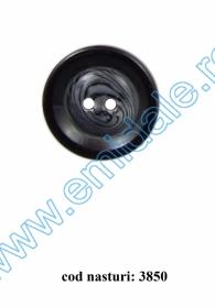 Nasturi Plastic cu Doua Gauri 0313-1283/40 (100 bucati/pachet) Nasturi cu Doua Gauri 3850/40 (100 buc/punga)