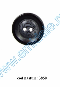 Nasture Plastic cu Picior 0311-0681/32 (100 bucati/punga) Nasturi cu Doua Gauri 3850/48 (50 buc/punga)