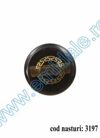 Nasturi Plastic cu Picior, Marimea 28Lin (100 buc/pachet) Cod: BP528 Nasturi cu Picior 3197, Marimea 70 (10 buc/pachet)