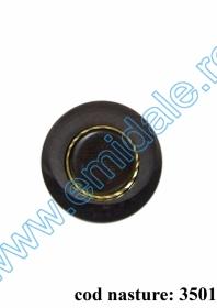 Nasturi cu Picior DPY0528/44 (100 bucati/punga) Nasturi cu Picior 3501, Marimea 40 (50 buc/pachet)