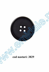 Nasturi Plastic AHS12294-40 (144 bucati/punga)  Nasturi cu Patru Gauri 3829/48 (25buc/punga)
