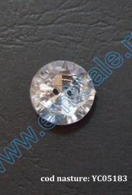 Nasturi Plastic cu Doua Gauri 0313-1283/24 (100 bucati/pachet) Nasturi cu Doua Gauri YC05183/10MM  (100 buc/punga)
