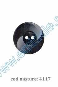 Nasturi cu Patru Gauri 0313-1300/24 (100 buc/punga) Culoare: Negru Nasturi cu Doua Gauri 4117/40 (100 buc/punga)