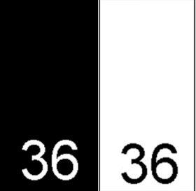 Etichete Tesute Marime: M (250 bucati/pachet) Etichete Tesute Marime: 36 (250 bucati/pachet)