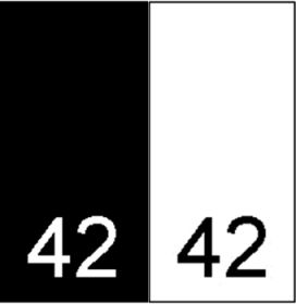 Etichete Tesute Marime: 34 (250 bucati/pachet)   Etichete Tesute Marime: 42 (250 bucati/pachet)