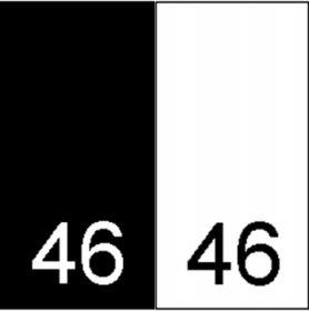 Etichete Tesute Marime: M (250 bucati/pachet) Etichete Tesute Marime: 46 (250 bucati/pachet)