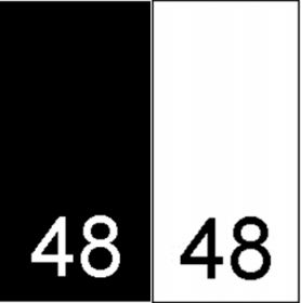 Etichete Tesute Marime: 34 (250 bucati/pachet)   Etichete Tesute Marime: 48 (250 bucati/pachet)