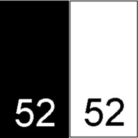 Etichete Tesute Marime: 34 (250 bucati/pachet)   Etichete Tesute Marime: 52 (250 bucati/pachet)