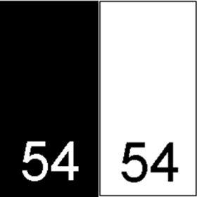 Etichetare Etichete Tesute Marime: 54 (250 bucati/pachet)