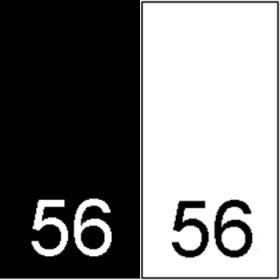 Etichete Tesute Marime: M (250 bucati/pachet) Etichete Tesute Marime: 56 (250 bucati/pachet)