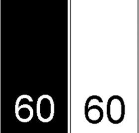 Etichete Tesute Imprimate Etichete Tesute Marime: 60 (250 bucati/pachet)