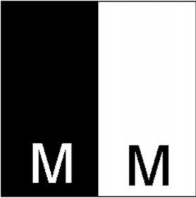 Etichetare Etichete Tesute Marime: M (250 bucati/pachet)