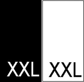 Etichete Tesute Marime: 5XL (250 bucati/pachet) Etichete Tesute Marime: XXL (250 bucati/pachet)