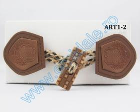 Brandemburg, lungime 9 cm (50 perechi/punga)Cod: 5932 Brandemburg, lungime 15 cm (10 perechi/pachet)Cod: ART1-2