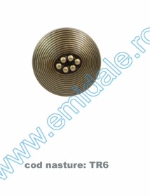 Nasturi cu Picior BT0026 (10 buc/pachet) Nasturi cu Picior TR6, Marimea 36 (100 buc/pachet)