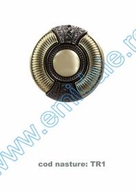 Nasturi cu Picior DPY0528/44 (100 bucati/punga) Nasturi cu Picior TR1, Marimea 40 (50 buc/pachet)