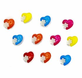 Nasturi plastic Copii Nasturi cu Picior 99-HH, Marimea 24 (25 buc/pachet)