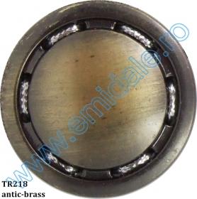 Nasturi Plastic cu Picior, Marime 40 Lin (100 bucati/pachet)Cod: PA41/40 Nasturi cu Picior TR218, Marimea 54 (50 buc/pachet)