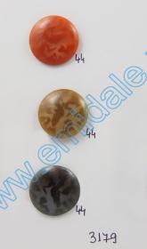 Nasturi cu Picior JU121, Marimea 20, Aurii  (100 buc/pachet) Nasturi cu Picior 3179, Marimea 44 (100 buc/pachet)