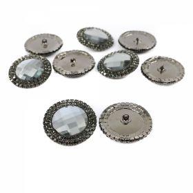 Nasturi cu Doua Gauri, 15 mm (50 buc/punga)Cod: 25413/24 Nasturi cu Picior BT0026 (10 buc/pachet)