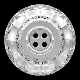 Swarovski Nasturi Swarovski, 18 mm, Culoare: Crystal (1 bucata)Cod: 3008
