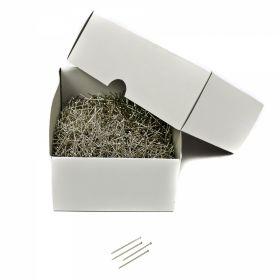 Bolduri cu Cap din Plastic, Albe, Asortate, Lungime 46 mm (36 rozete/cutie)  Ace cu Gamalie, Lungime 26mm (5000 buc/cutie)