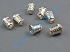 Opritori Snur (100 buc/punga) Cod: MTL131 Capete de Snur (100 bucati/set) Cod: ZB-0008-1