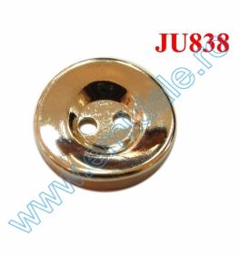 Nasturi Plastic cu Doua Gauri 0312-0111/40 (100 bucati/punga) Culoare: Alb Nasturi cu Doua Gauri JU838/24 (100 buc/punga)
