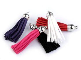 Ciucuri Textili, lungime 4 cm (10 bucati/pachet) Ciucuri, lungime: 55 mm (10 bucati/pachet)