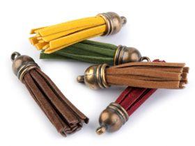 Ciucuri Textili, lungime 4 cm (10 bucati/pachet) Ciucuri, lungime: 48 mm (25 bucati/pachet)
