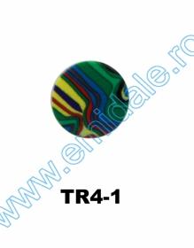 Nasturi cu Picior JU121, Marimea 20, Argintii  (100 buc/pachet) Nasturi cu Picior TR4-1, Marimea 36 (100 buc/pachet)