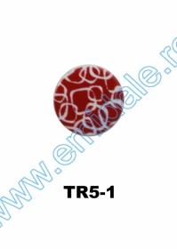 Nasturi Plastic cu Picior, Marime 40 Lin (100 bucati/pachet)Cod: PA28/40 Nasturi cu Picior TR5-1, Marimea 36 (100 buc/pachet)