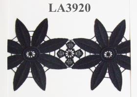Dantela 0575-1051 (13,72 m/rola) Dantela (13.99 m/rola) Neagra