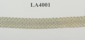 Banda Dantela Brodata, 185 mm, Alb, Negru (9 metri/rola) Cod: 13492 Dantela ci Fir auriu, latime 20 mm (25.97 m/rola)Cod: LA4001