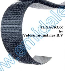 Banda Arici, 100 mm, Alb, Negru (25 metri/rola(Puf+Scai)) Banda Arici, doar Scai, 25 mm, Velcro (25 metri/rola)