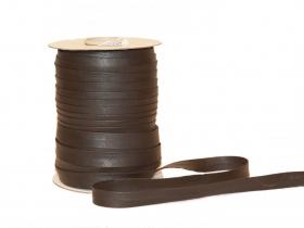 Bias Bias din Imitatie Piele, latime 13 mm, Maro (40 m/rola)
