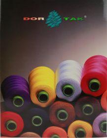 Ata de Cusut, DOR TAK, 40/2, 5000 m (1 con/culoare) Cartela Culori Ata DorTak
