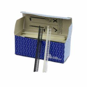 Agatatori cu Inel - Forma Semicerc  ( 5000 bucati/cutie )  Microtach Normal Tag Pins, 4.4 mm, Black (10.000 pcs/box)