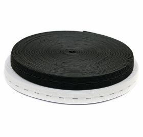 Elastic (benzi elastice) Buttonhole Elastic Tape, 20 mm (25 meters/roll)